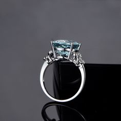 Charm #Blue Stone #Rings Jewelry For #Women #Butterfly Clear Crystal Accessory #Rings #For #Wedding Party Gift bague femme-in Rings from Jewelry & Accessories on Aliexpress.com | Alibaba Group