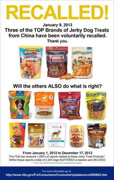 Do not give your dog these treats!