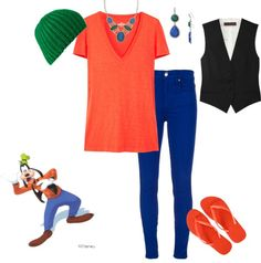 Goofy Outfit, created by teeg70 on Polyvore
