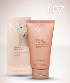 Man, our feet have taken a beating this winter! You too? Slip some No7 Softening Foot Balm under socks and wake up smoother.  http://www.shopbootsusa.com/product/32538