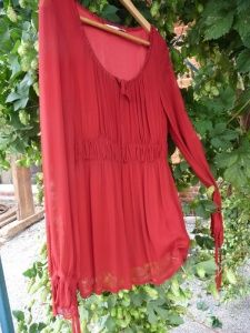 Valja Red Party Top, sizes 10 and 16