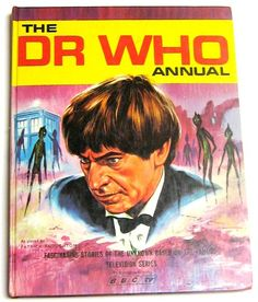 Doctor Who 1968 Annual with Patrick Troughton on The Cover