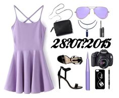 """""""28/07/2015"""" by apcquintela ❤ liked on Polyvore featuring Dorothy Perkins, Ray-Ban, NARS Cosmetics and Lord & Berry"""