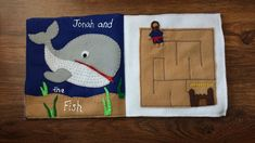 Jonah: Quiet Book Page #QuietWorkings