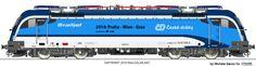 Trains, Railways and Locomotives Electric Locomotive, Trains, Life, Chart, Graz, Train
