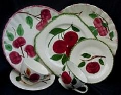 Collecting Antique Blue Ridge Pottery Plates and Dishes made in Appalachia