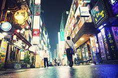 Random street in Seoul