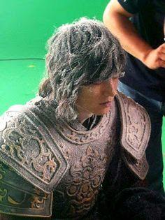 "Lee Min Ho 2012 August 07 in Drama ""Faith"" Frosty Look Lee Min Ho Faith, The Great Doctor, Scene Image, Minho, Behind The Scenes, Dreadlocks, Hair Styles, Beauty, Drama"