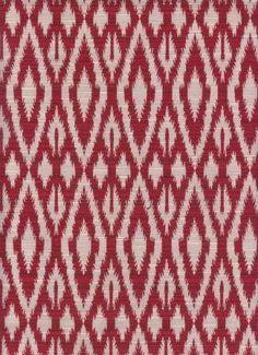 Novana Red - www.BeautifulFabric.com - upholstery/drapery fabric - decorator/designer fabric