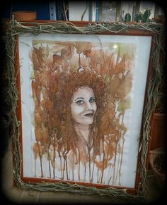 Into #texture  #hairliketreeroots  Acquerello su carta  35x50 cm  MELA -  Carmela Garro