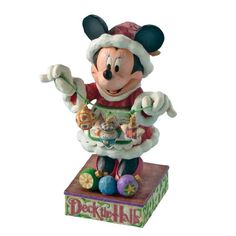 Jim Shore - Disney Traditions - Minnies Christmas Cheer Figurine by Enesco - 4005625 >>> See this great product.