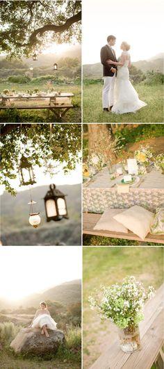 lanterns hanging outside