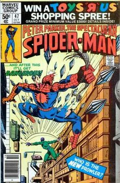 Peter Parker, The Spectacular Spider-Man Vol 1 #47 - (1980) - Roger Stern. Marie Severin, Bruce Patterson