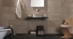 En el baño: ¿azulejos o piedra? - Foto 1