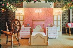 Little Wish Parties | Sleeping Beauty themed birthday party | https://littlewishparties.com