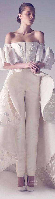 pulchritudinous  wedding dresses designer with sleeves zuhair murad 2016-2017