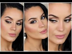 ▶ Romantic Cut Crease BRIDAL Makeup Tutorial ♡ Collab w/ Claire Ashley - YouTube