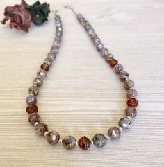 Just listed in my #etsy shop: Mosaic Abalone Shell Bead Necklace Gemstone  http://etsy.me/2olbSjd #handmade #womens #jewelry #necklace #shell #shellbead #mosaic #abalone #rubyred #singlestrand #anniversary #birthday #mothersday #gift #giftideas #giftforher #giftformom