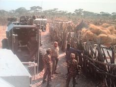 Visiting a local kraal West Africa, South Africa, Brothers In Arms, Armored Fighting Vehicle, Defence Force, My Land, Cold War, Armed Forces, African