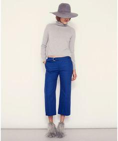 Nomia - Cropped Wide Leg Pants