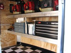 Pictures of the new Enclosed Trailer Interior - LawnSite.com ...