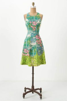 Would it be corny to get this dress and then wear it when we go to Giverny?