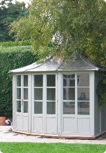 Garden House from Ireland-fits into a corner of the yard