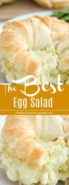 The Best Egg Salad. No really it's the BEST!!! Go try this recipe.