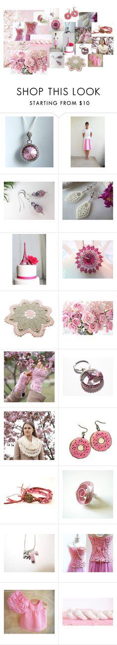 """""""Pink Rules"""" by valeriebaberdesigns ❤ liked on Polyvore featuring Anello"""
