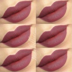 mac plum lipliner - (I believe they are lying about that but whatever it really is, it's looks nice)