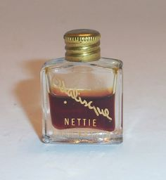 Vintage Odalisque Miniature Perfume Bottle by by theantiquechasers