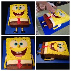 Our Spongebob cake!