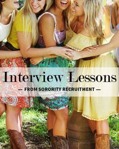 Interview Lessons