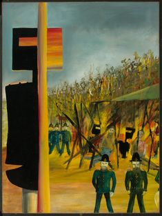 Sidney Nolan Ned Kelly Series - Burning at Glenrowan 1946 Australian Painting, Australian Artists, Sidney Nolan, Ned Kelly, 12 November, Naive Art, The Guardian, Great Artists, Art Reference