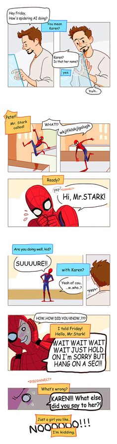 *SPOILER* Peter Karen Tony Friday by Hallpen