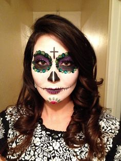 My first sugar skull attempt