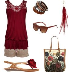 summer time red