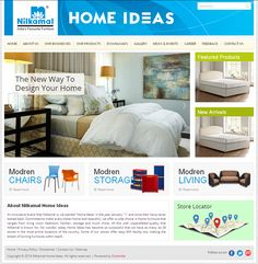 Nilkamal Home Ideas Developed by Dots Info Systems (I) Pvt. Website Development Company, Design Your Home, Dots, Storage, Furniture, Home Decor, Purse Storage, Homemade Home Decor, Larger