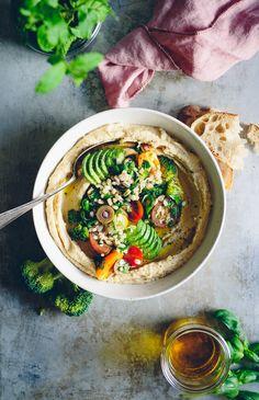 Hummus Bowl with Grain Salsa   Cashew Kitchen