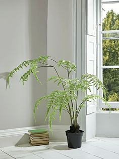 NEW Faux Potted Vibrant Fern