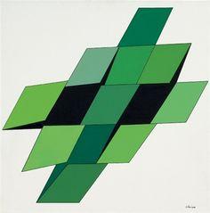 Charmonium vert von Geneviève Claisse