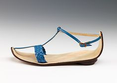 Sandals  Date: 1954–58 Culture: Italian