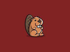25 Creative Beaver Logo Design You Must See - Smashfreakz Beaver Cartoon, Beaver Logo, Mascot Design, Logo Design, Beaver Drawing, Labrador Silhouette, Le Castor, Wood Badge, Fall Clip Art