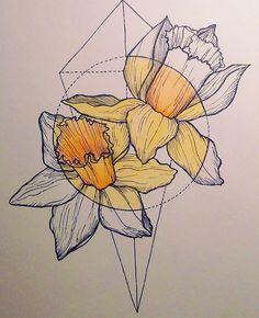 I love this color vs noncolor plus geometry Cool Art Drawings, Pencil Art Drawings, Art Drawings Sketches, Pen Art, Art For Art Sake, Geometric Art, Art Sketchbook, Art Inspo, Bunt