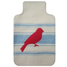 Hot water bottle cover - bird 3 by Green With Envy