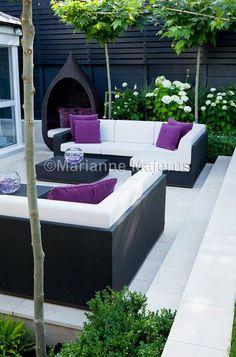 Spa Garden | Charlotte Rowe Garden Design #GardeningDesign