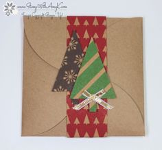 November 28, 2014 Stamp With Amy K: Gift Card Envelope & Trims Thinlits Dies