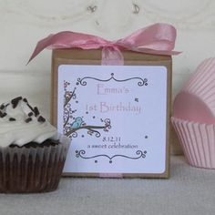 cupcake mix party favors