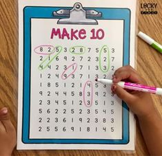 Circling Sums Math Game – Molly – Lucky to Be in First Circling Sums Math Game Give your students a chance to find different ways to make sums with this low-prep activity! Lots of options are included! Math Resources, Math Activities, Activities For 1st Graders, Build Math, Phonics Games, Math Intervention, Second Grade Math, Second Grade Centers, Math Numbers