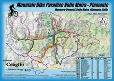 map italia moutain bike - Recherche Google